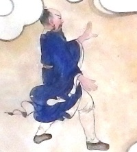 qi gong painting